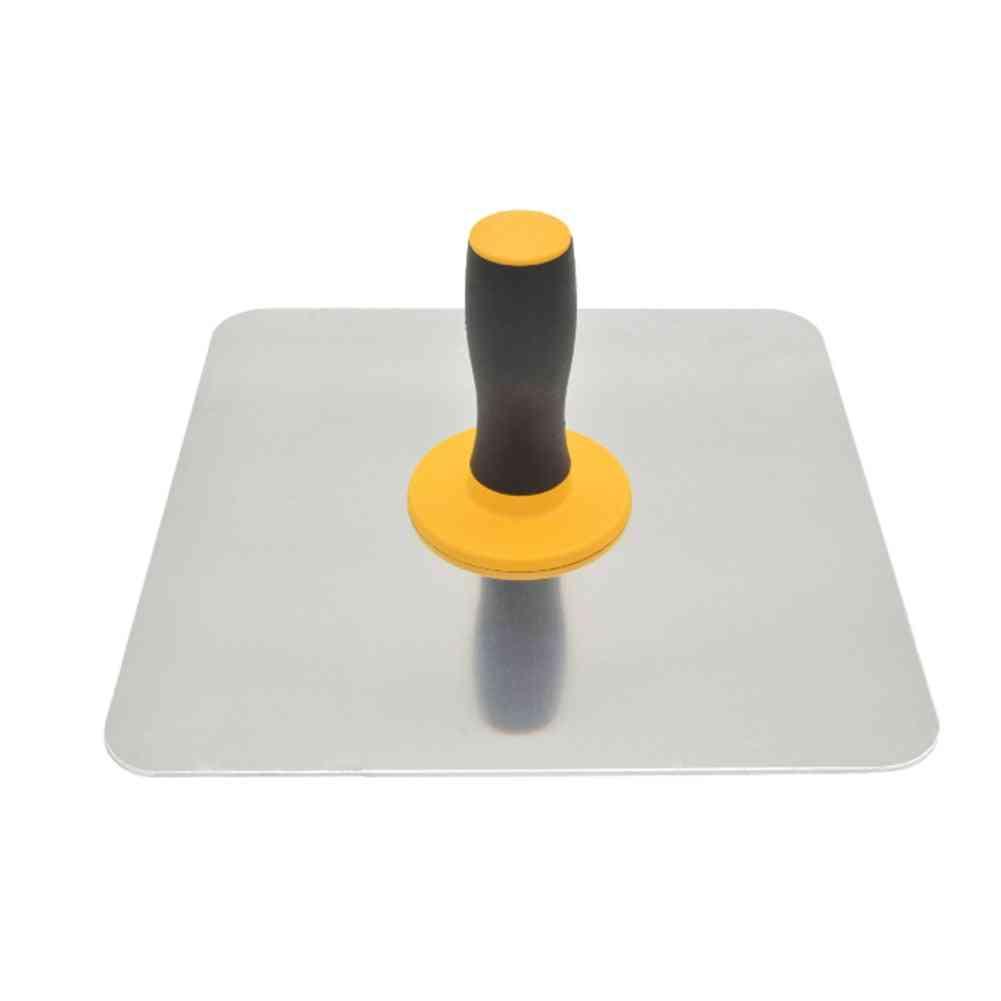 Aluminium Finishing Craftsman, Trowel Plastering Tool Paint Holder, Mortar Board With Handle