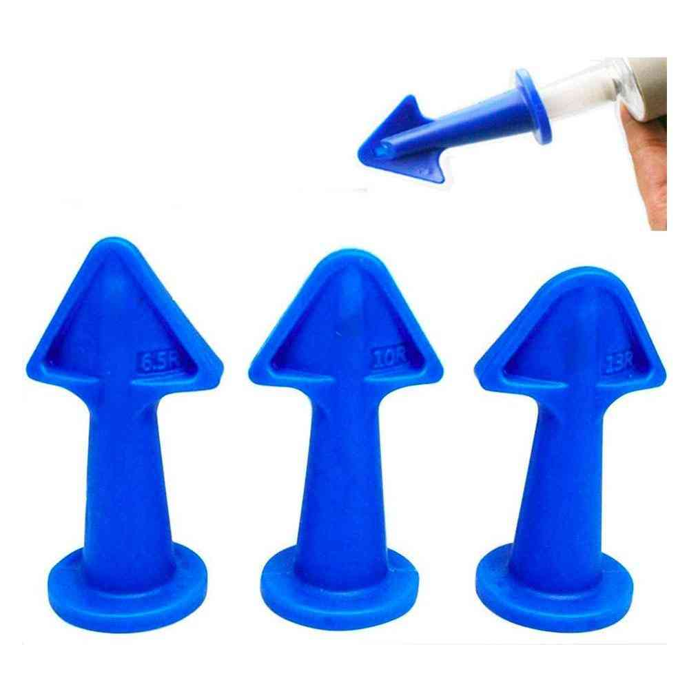 Caulk Nozzle Applicator, Silicone Sealant, Epoxy Piston Accessories Tools