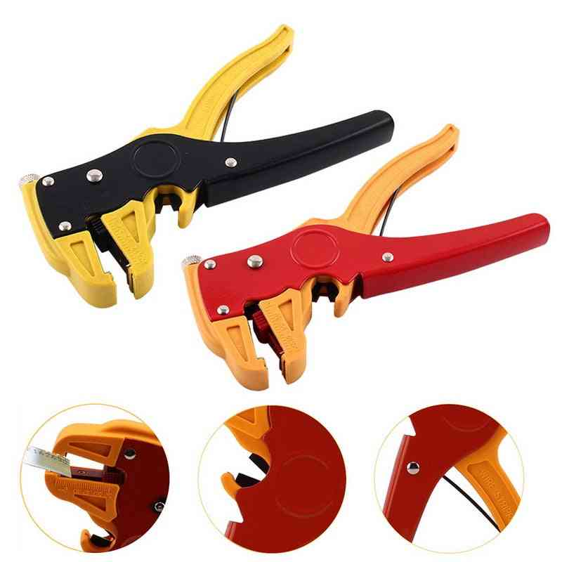 Automatic Self-adjusting, Cable Wire Stripper, Crimper Cutter Pliers For Hand Tools