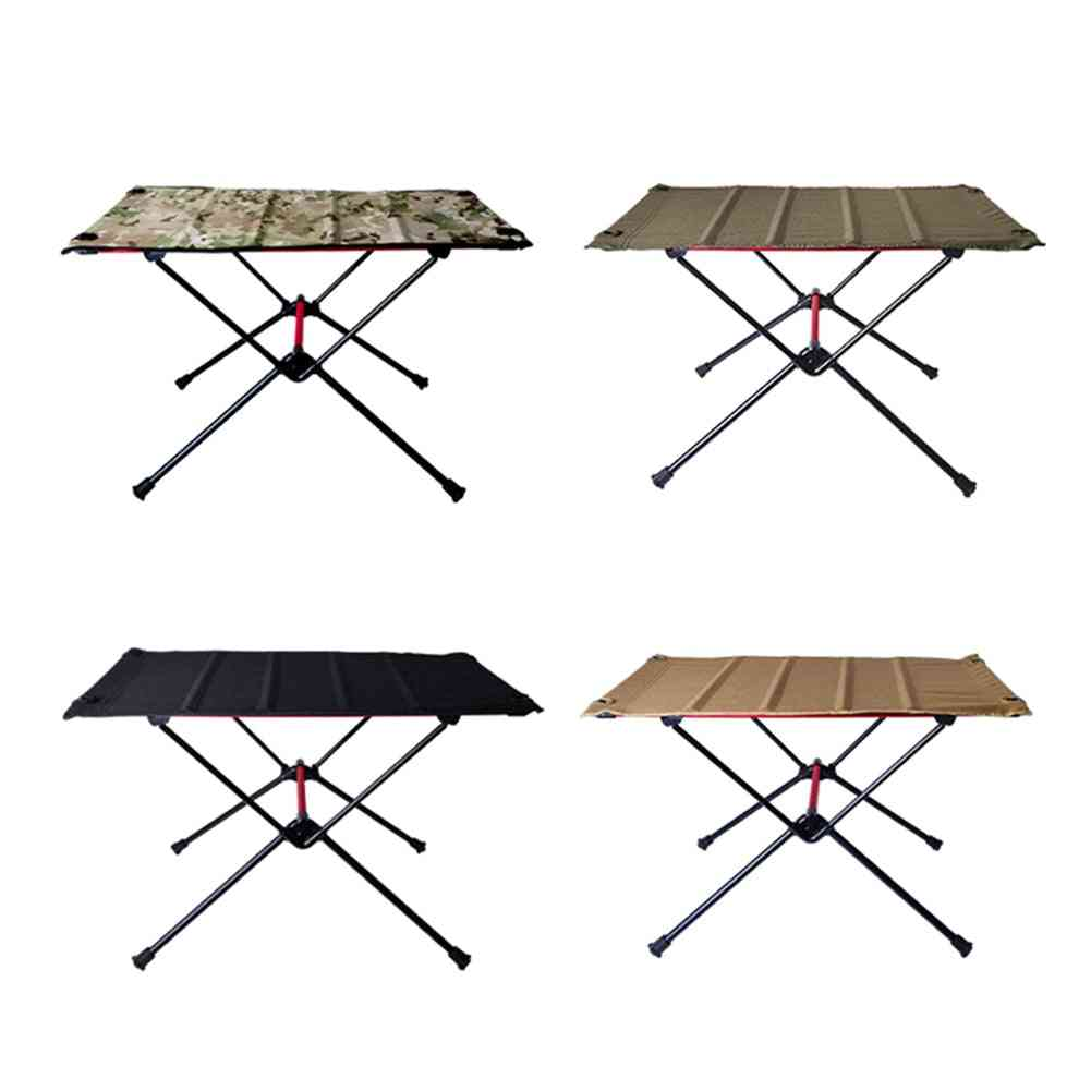 Folding Table Stall Portable Outdoor Simple Dining Chair Small Aluminum Home Decoration