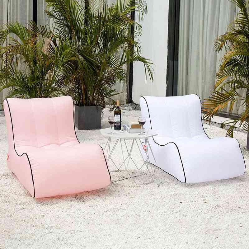 Portable Inflatable Sofa Lounger, Air Chair