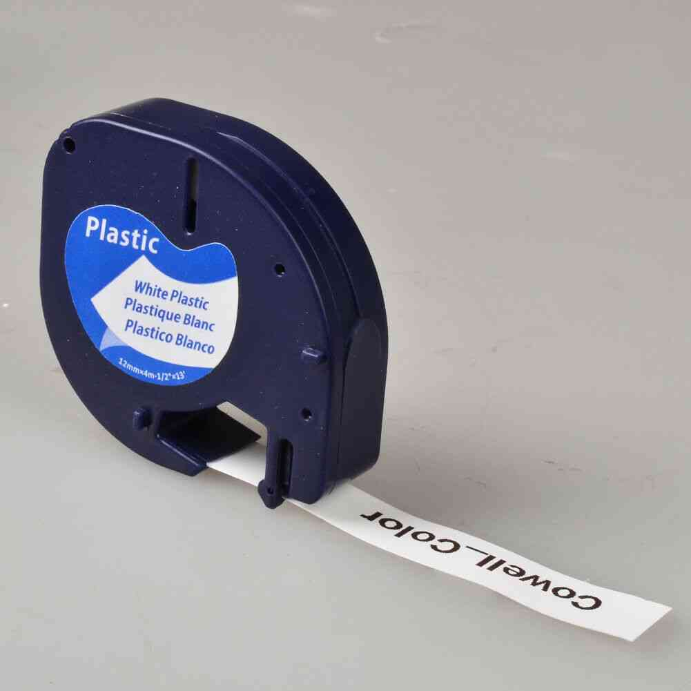 Compatible Plastic Label Tag Tapes