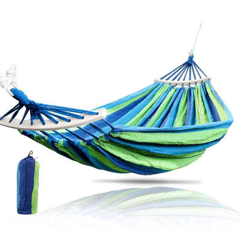 Hiking Camping Hammock Portable Nylon Safety Parachute Swing Chair Double Person Leisure