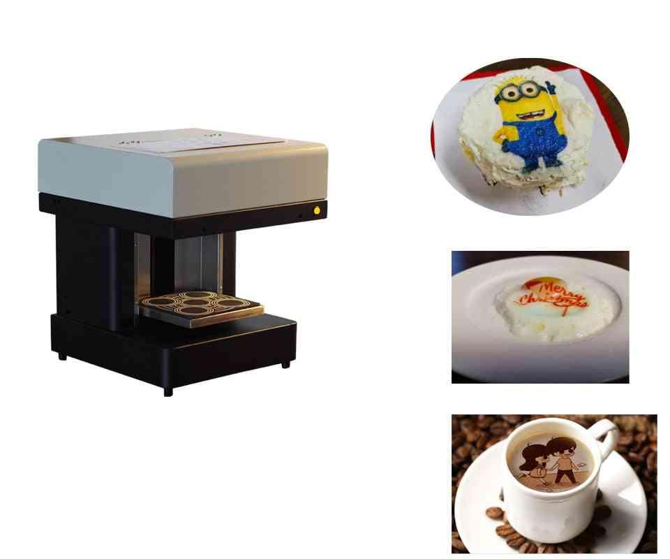 3d Cappiccino  Latte Art Coffee Printer Small Cake Food Printer Price