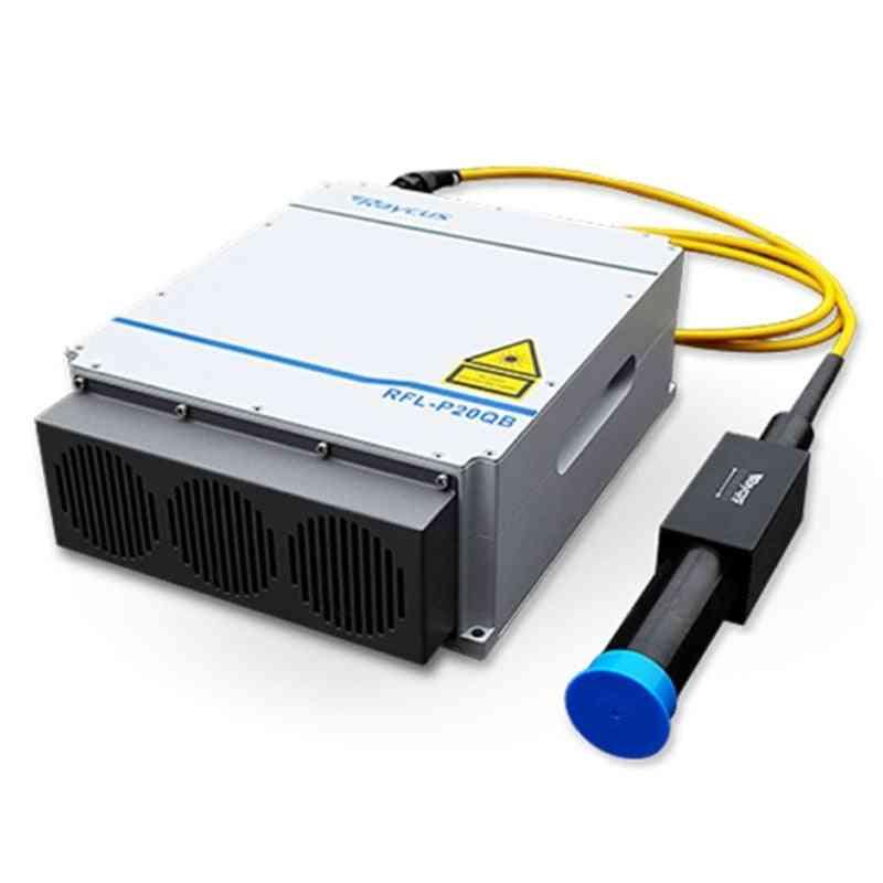 Raycus Q-switched Pulse Fiber Laser Source Marking Machine Part