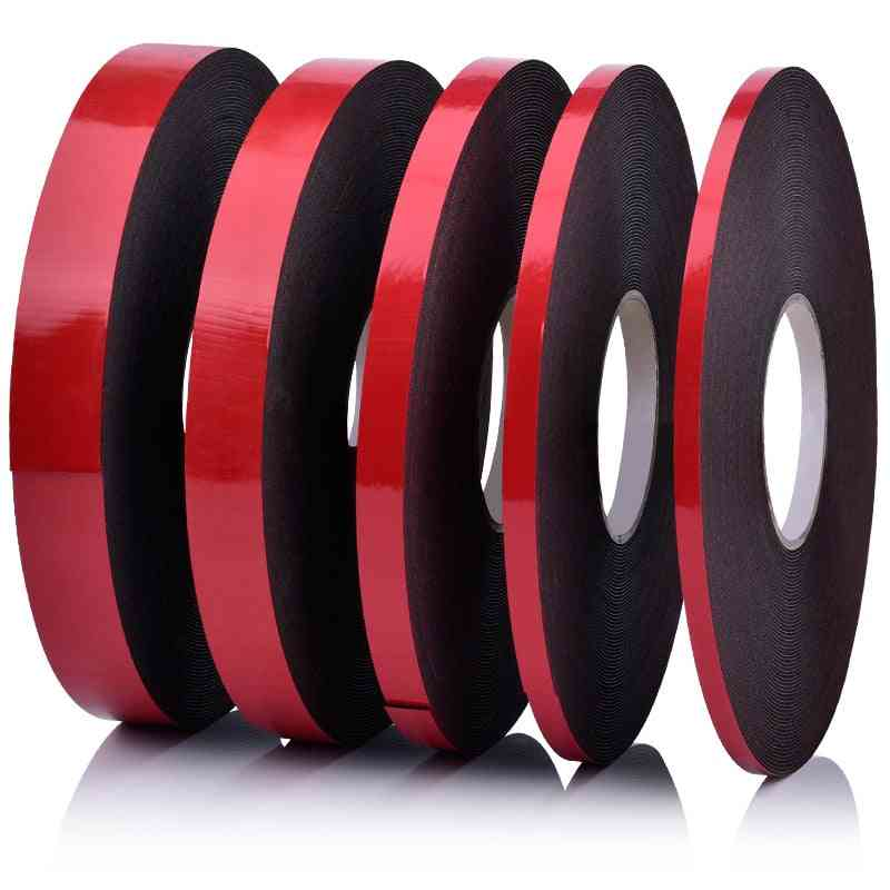 10m Strong Adhesive, Sponge Mounting- Double - Sided Sealing Foam Tape