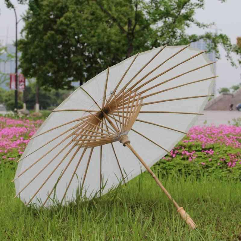 Birthday Party, Shower Decorated, Rice Paper, Kids Umbrella (white)