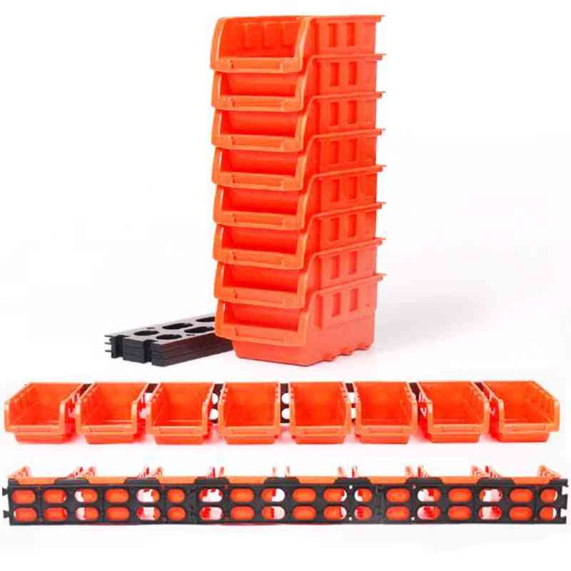 Abs Wall-mounted Foldable Tray, Hardware Screw Tool Storage Box