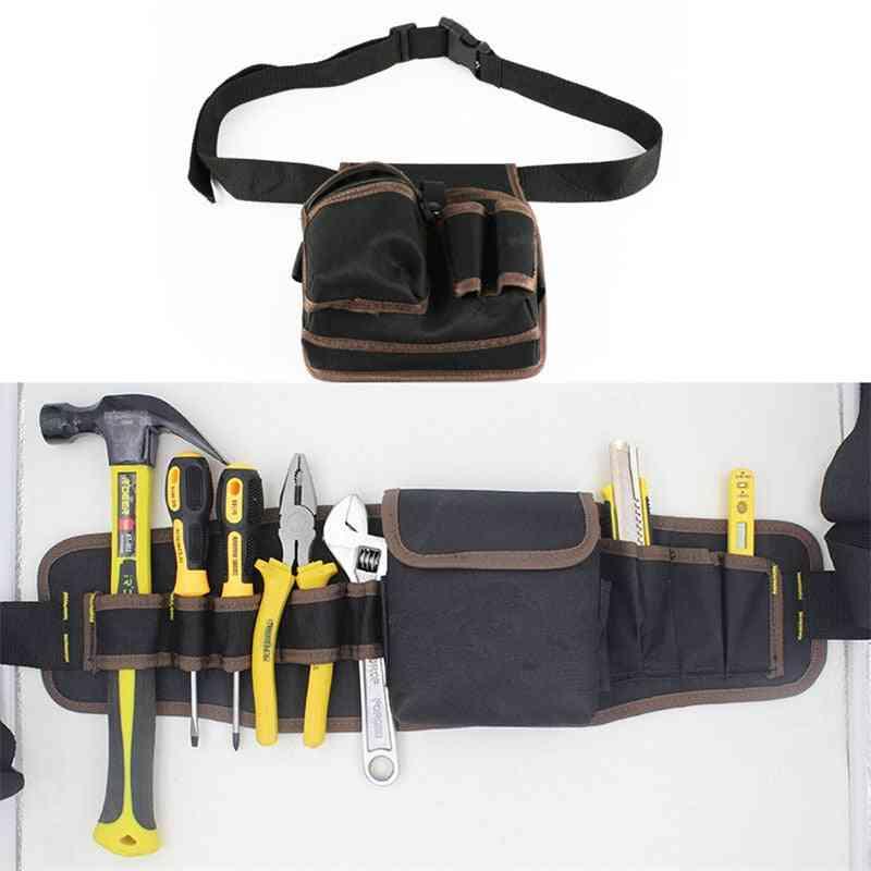 Large Capacity Waist Pockets Electrician Tool Bag