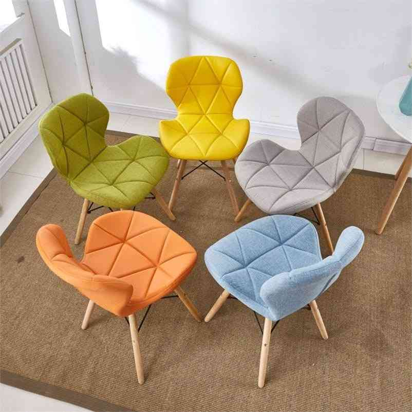 Study Retro Butterfly Nordic Wooden Chair