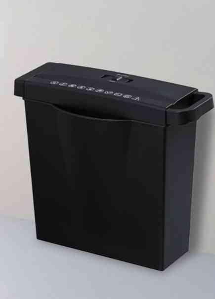 220v Mini Electricity A4 Paper Shredder Machine Mute Household Portable Desktop File Paper Cutter