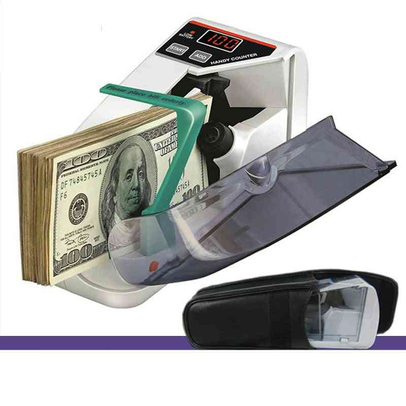 Mini Currency Counting Handy Bill Cash Banknote Counter Machine