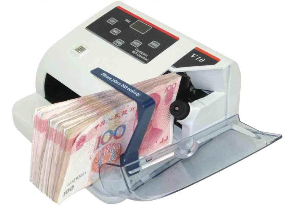 Portable Mini Money Detector Uv Mg Wm Bill Counter