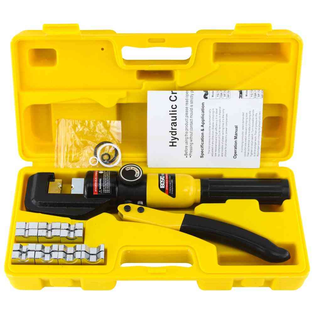 Cable Lug Crimper Plier Compression, Pressure Hydraulic Crimping Tool