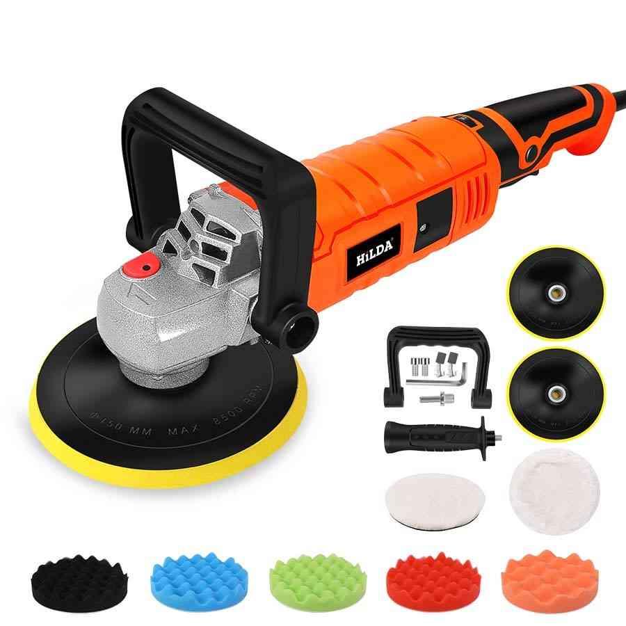 Car Polisher Variable Speed, Paint Care Tool, Polishing Machine, Sander, Electric Floor Polish