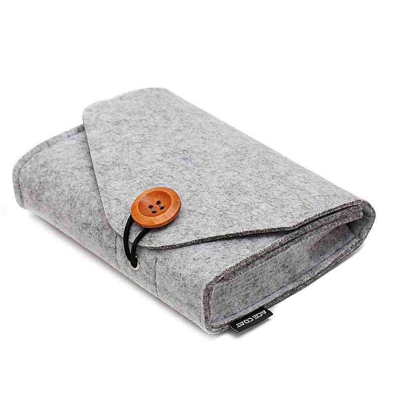 Portable Hdd Case, Storage Bag For Charger, Mouse Mobile Power Bank, Earphone
