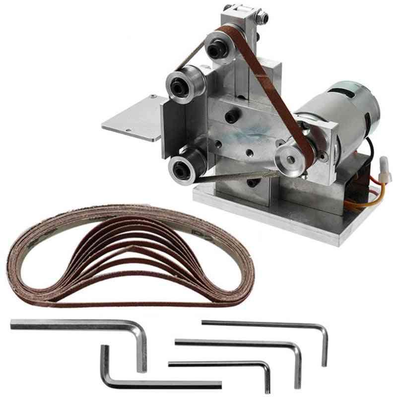Multifunctional Grinder Mini Electric Belt Sander Diy Polishing Grinding Machine