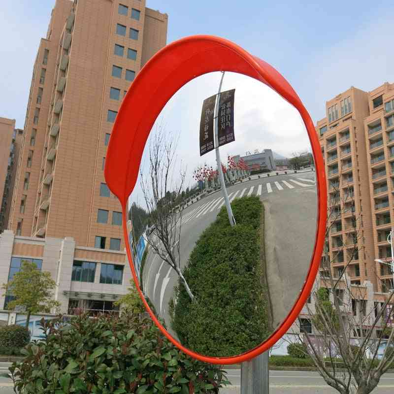 Wide Angle Security Curved Convex Road Mirror Traffic Driveway Roadway Safety Traffic Signals