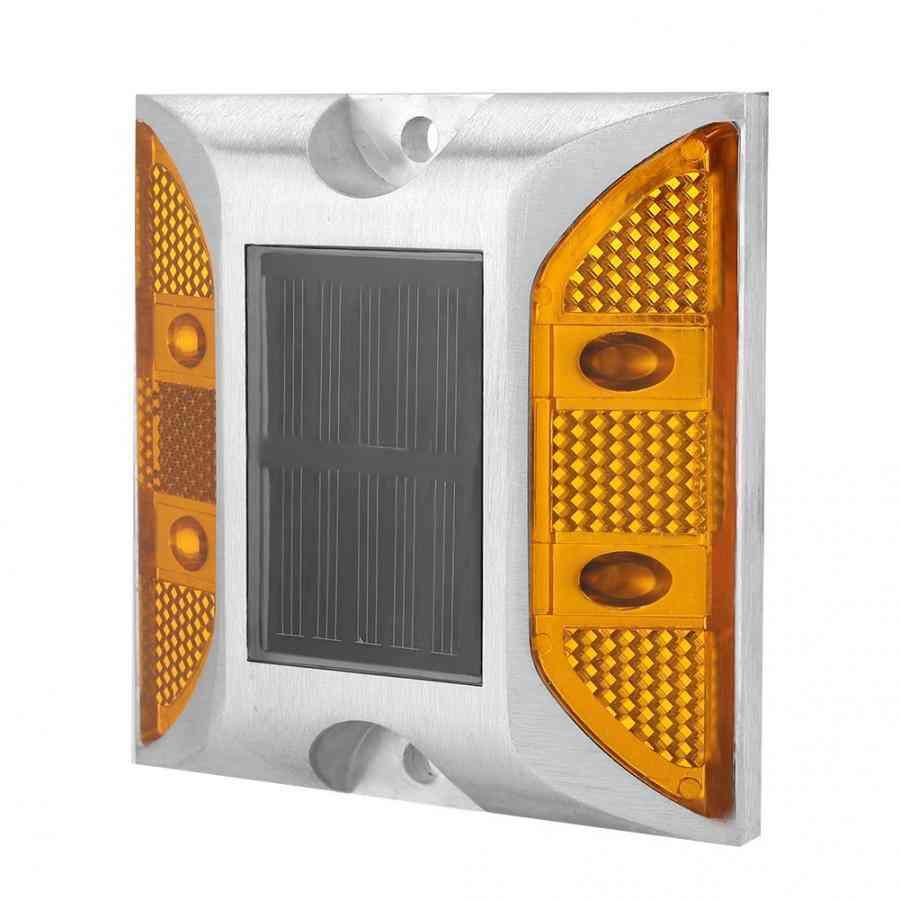 Reflector Flashing Lights Led Waterproof Solar Aluminum Roads Studs