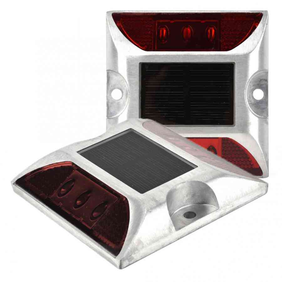 Led Solar Power Lights Waterproof Outdoor Driveway Road Stud Lamp