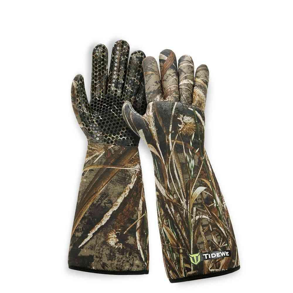 Waterproof Neoprene Elbow Length Hunting Gloves