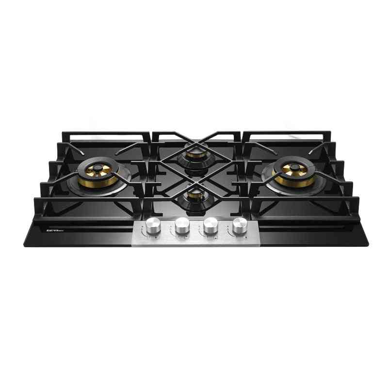 Four-eye Double Embedded Liquefied Natural Gas Cooker