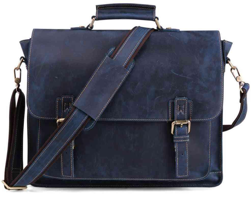 Business Travel Leather Bag For Men