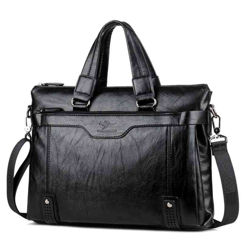 Leather Briefcase For Men's
