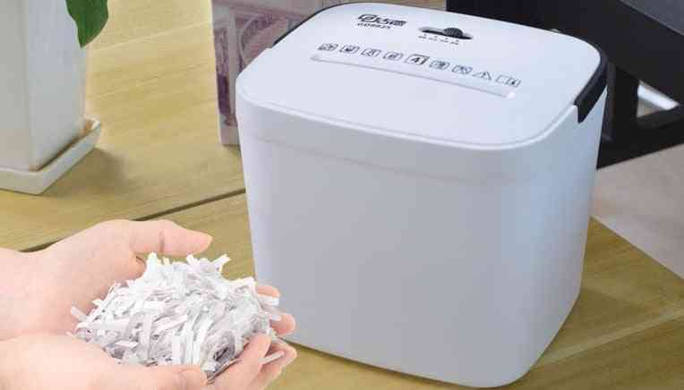 Mini File  Shredder Crusher Machine