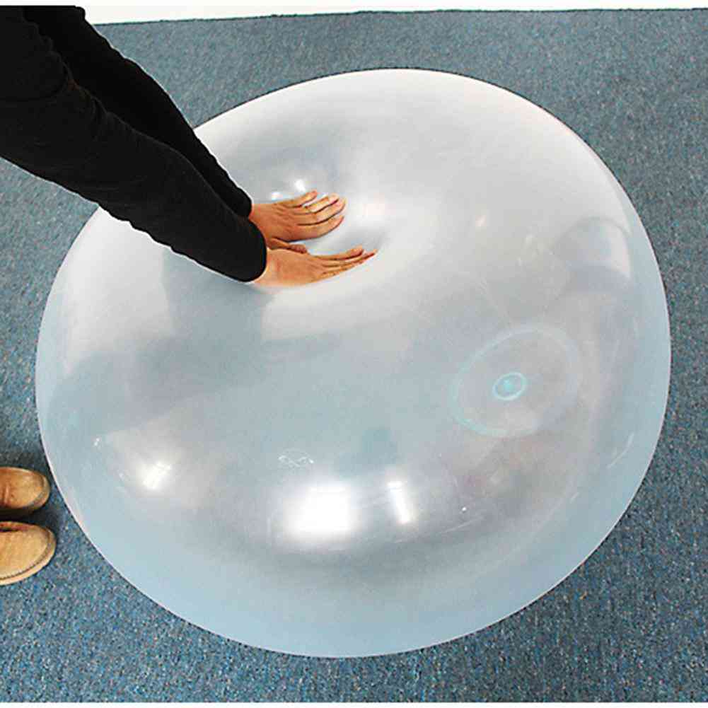 Children Outdoor Soft Air Water Filled Bubble Ball Blow Up Balloon
