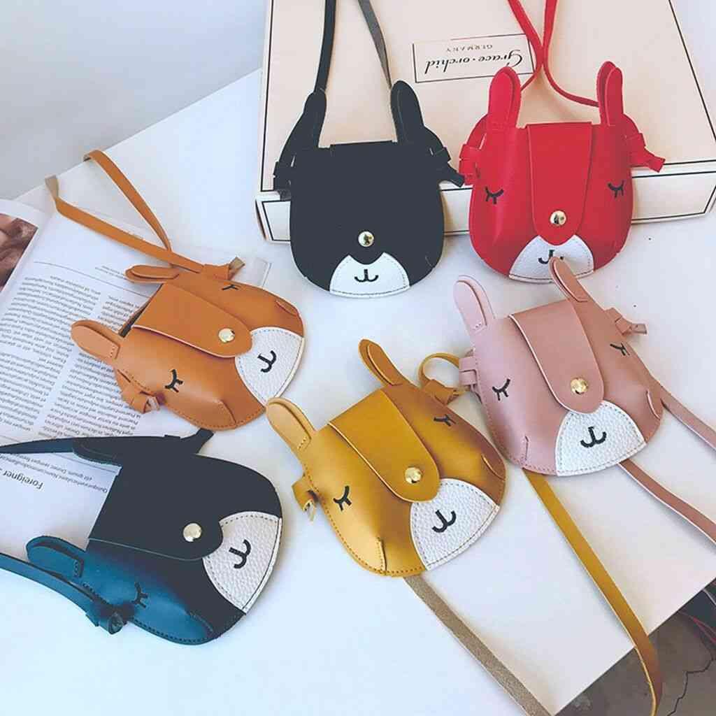 Cute Baby Kid Girl Princess Leather Handbag & Cross Body Messenger Satchel Bags