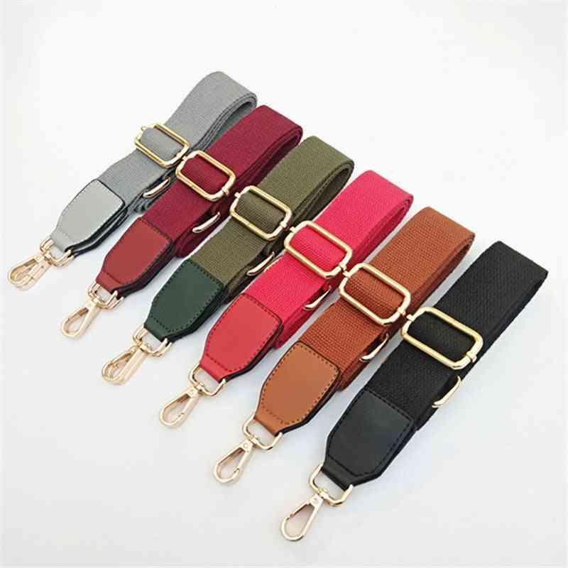 Pu Leather Long Adjustable Single-shoulder Slant Belt