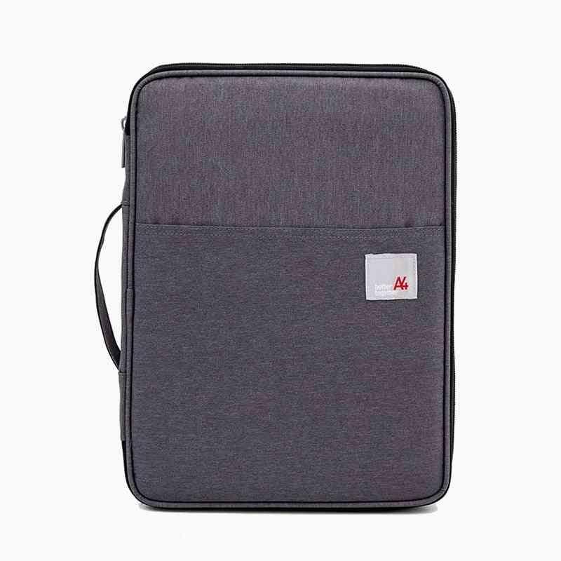 Bags Portable Ipad Holder Bag Oxford Briefcase Fs4050, For Documents A4 Multi-functional Note Book Archive File