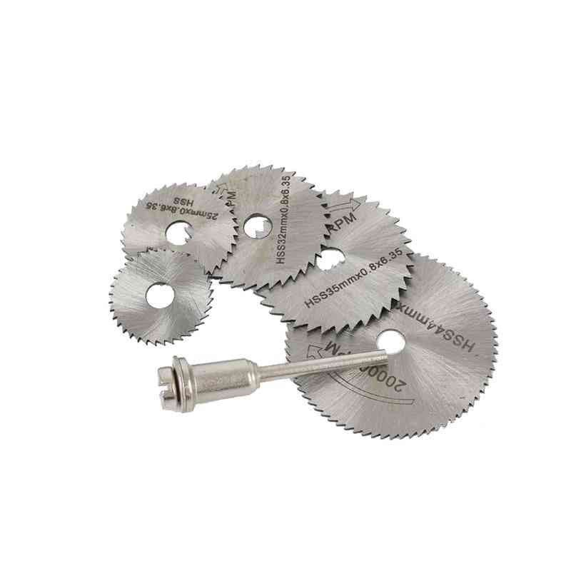 Hhs Cutting Disc, Rotary Wheel, Mandrel Rod For Dremel Tools Accessories