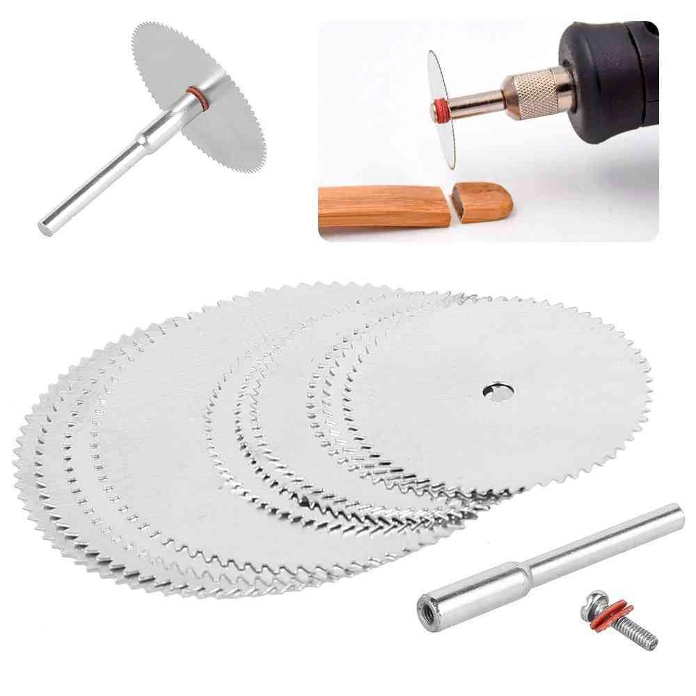 Mini Circular Saw Blade, Electric Grinding, Cutting Disc Rotary For Dremel Metal, Cutter Power Tool
