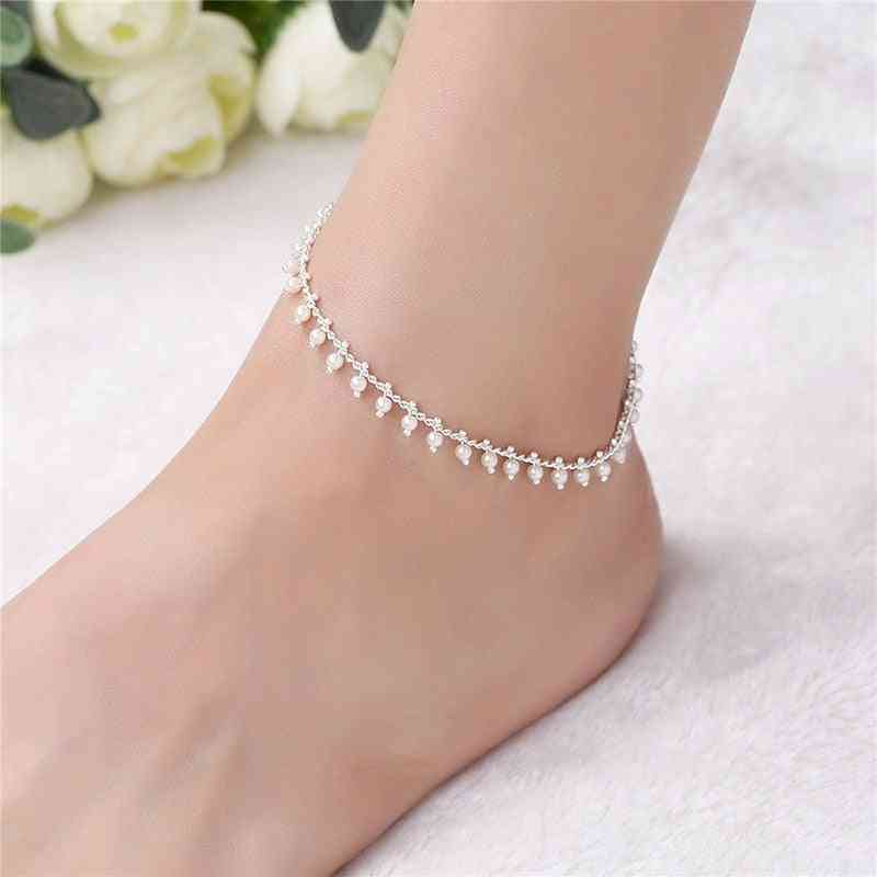 Barefoot Sandal Anklet Chain Jewelry