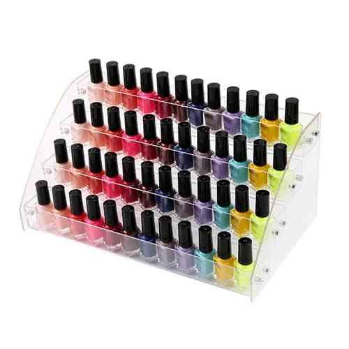 Acrylic Nail Polish, Manicure Cosmetics Jewelry, Display Stand Holder