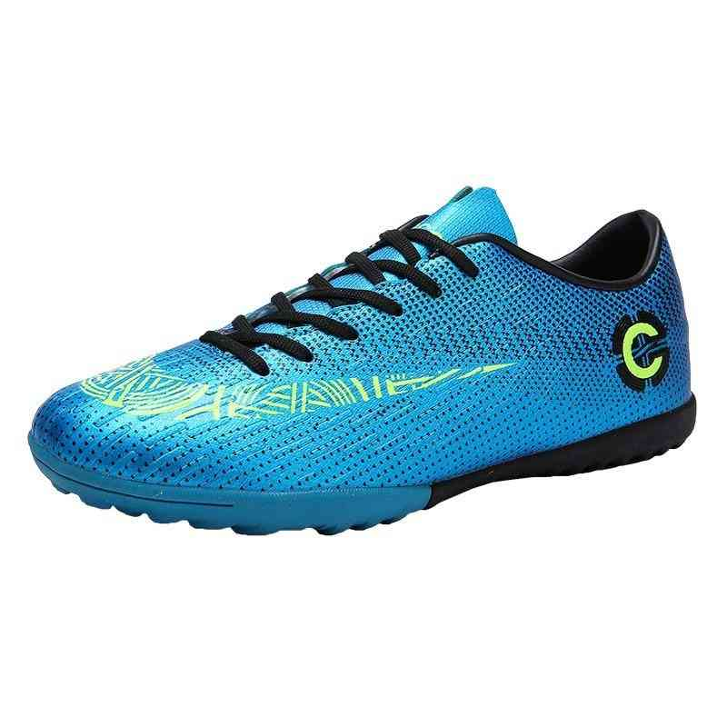 Outdoor Soccer Football Boots, High Ankle Kids Cleats Training Sport Sneakers