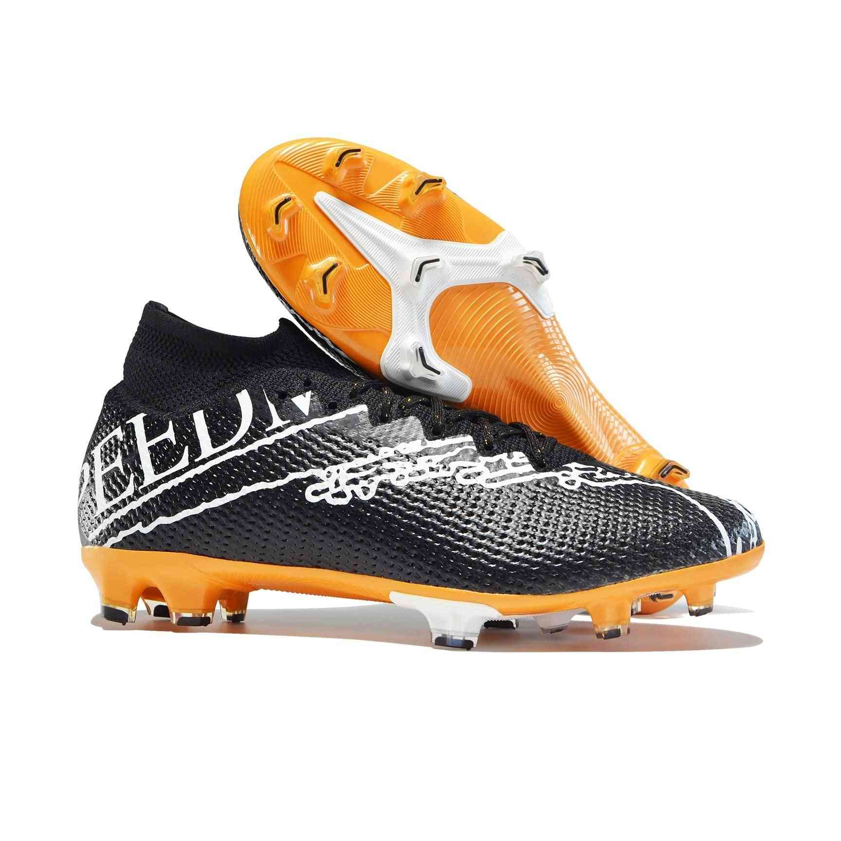 Football Training Professional Soccer Cleats High Ankle Sport Shoes