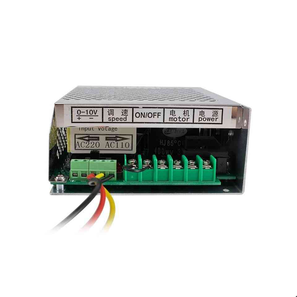 Spindle With Speed Control, Mach-3 Cnc, Switching Power Supply For Spindle Motor (mach 3 Power Supply)