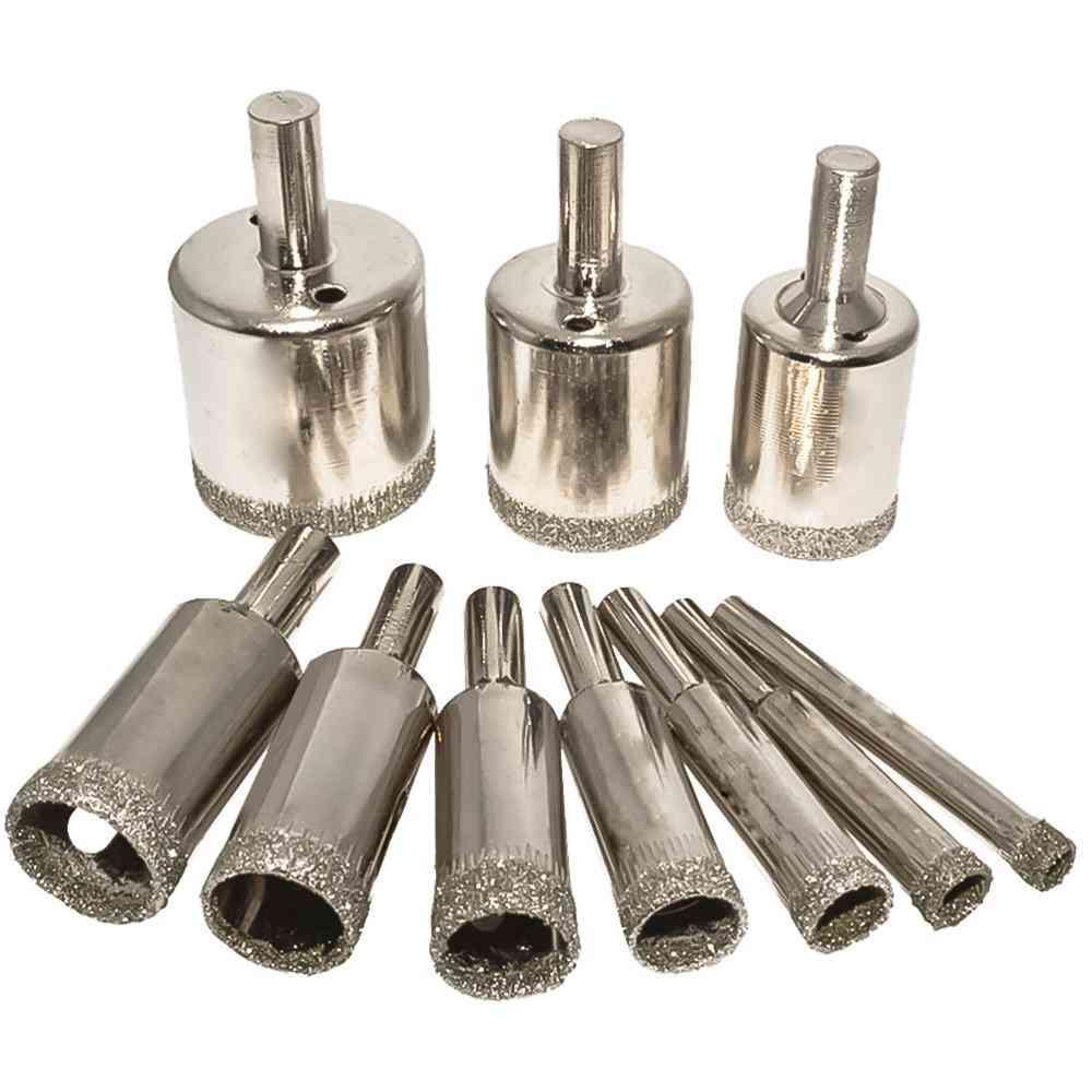 Ceramic Tile Drilling Holesaw Cutting Kit