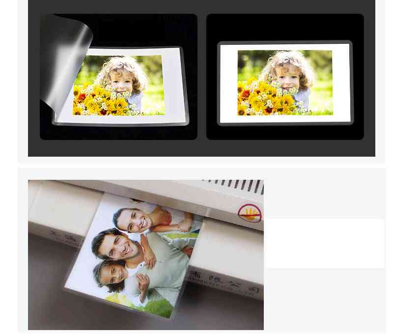 Clear Sheet Eva Bond For Photo Roll Paper Laminating Film Photo Files Card Picture Lamination 4