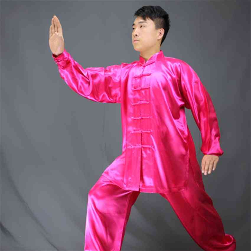 Chinese Traditional Tai Uniforms, Performance Dance Exercise Suit