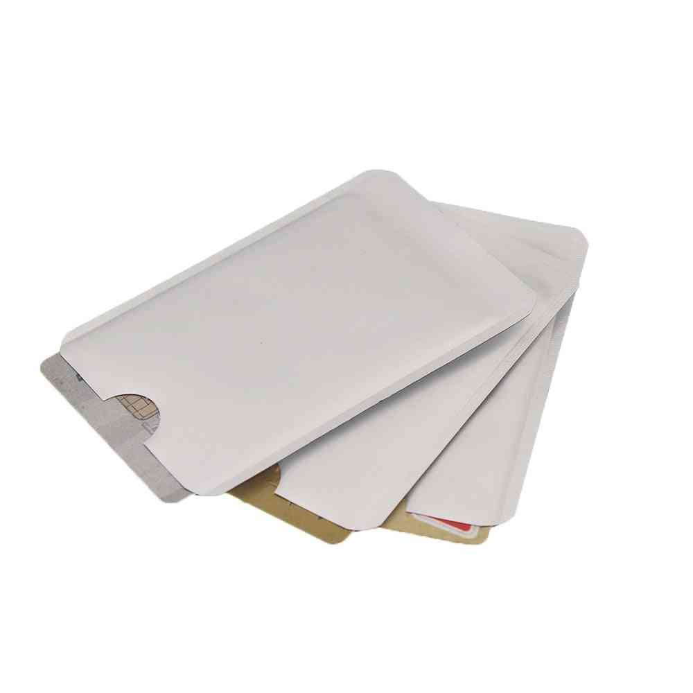 Aluminum Foil, Anti-scan Rfid Sleeve Protector, Credit Id Holder