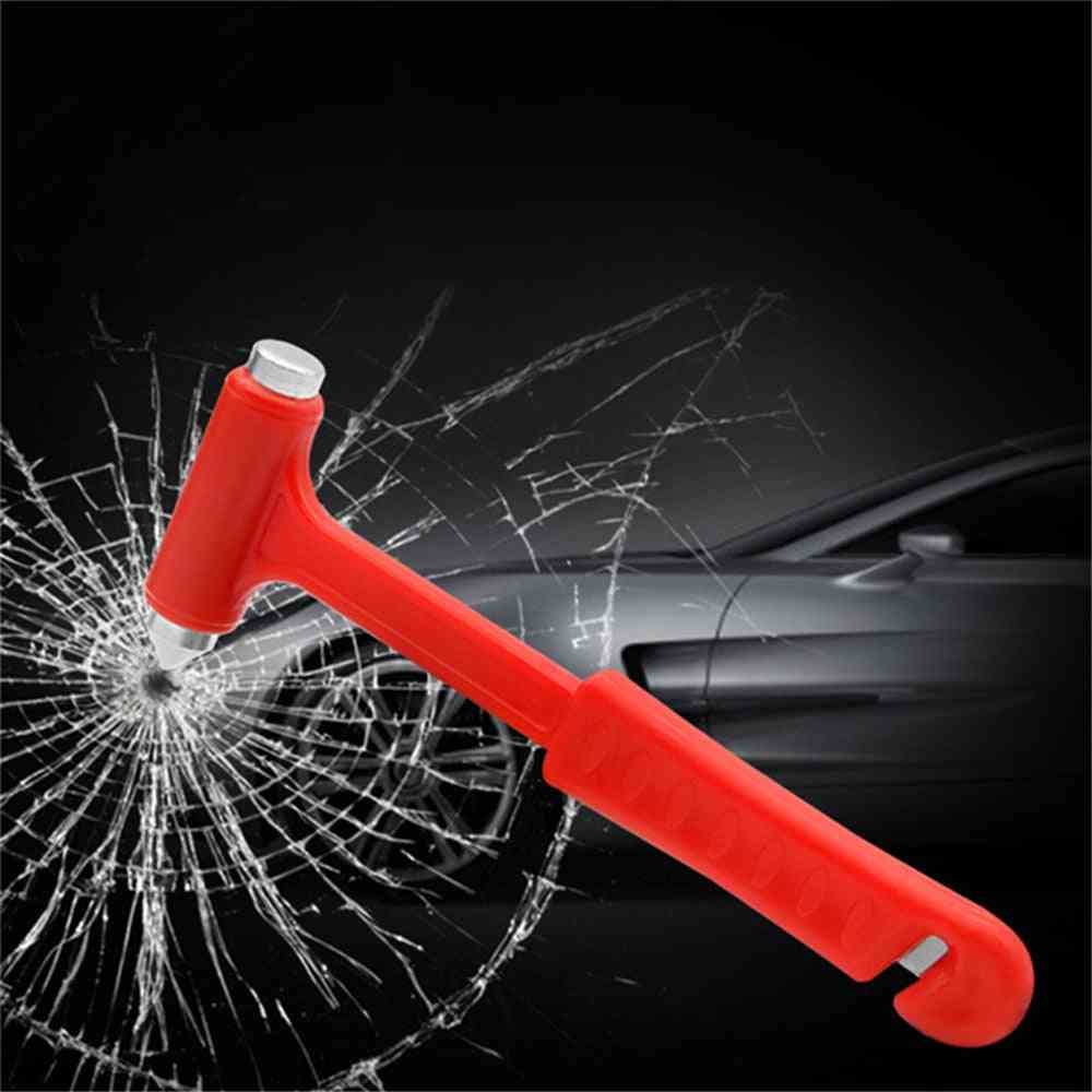 Safety Escape Glass Window Breaker Emergency Hammer Seat Belt Cutter Tool For Car Accessories