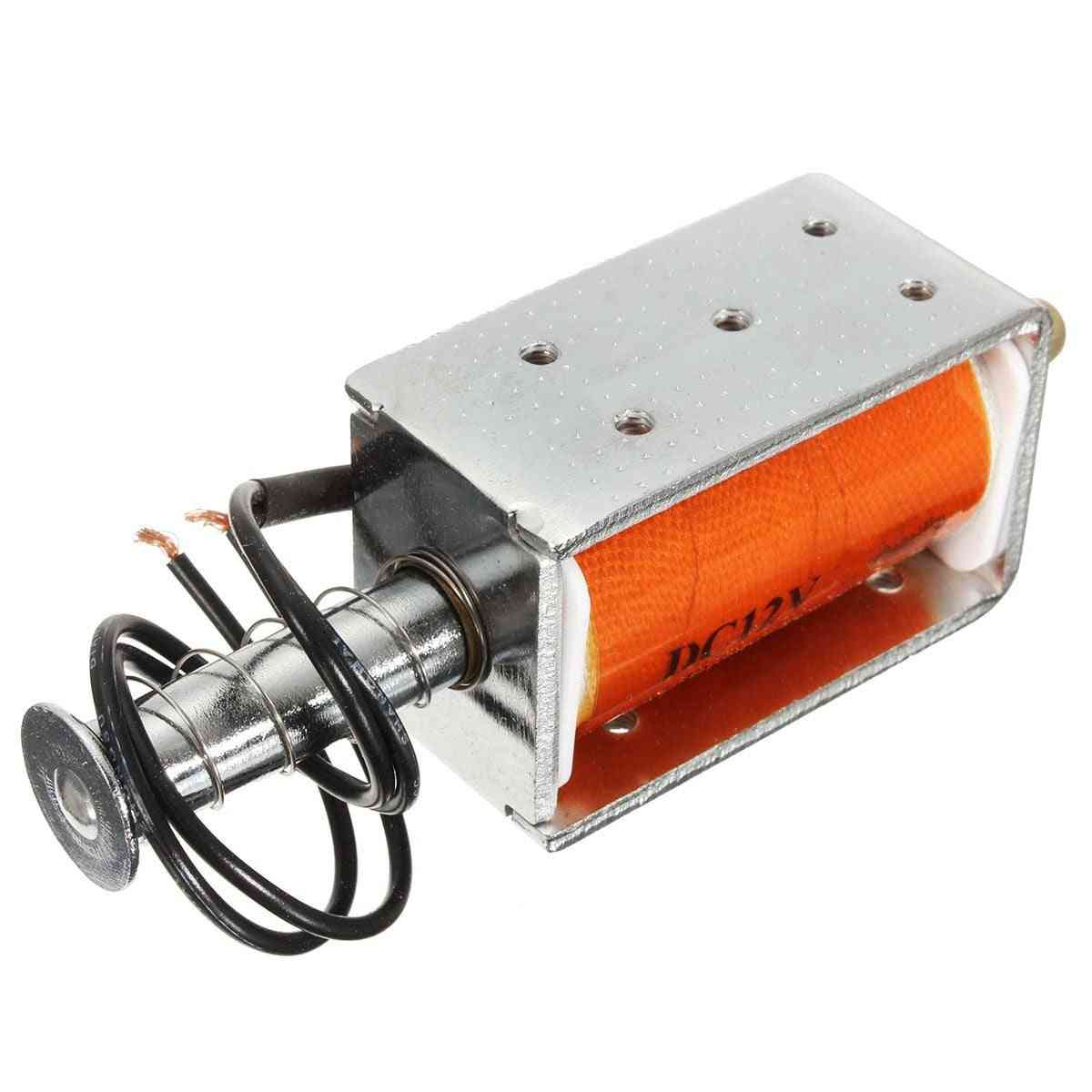 Long-stroke Push-pull Solenoid Dc Small Durable Electromagnetic, Electric Magnet