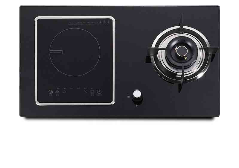 Electric Cooktop Stove Embedded Electromagnetic Oven Gas, Desktop Electrics Hob