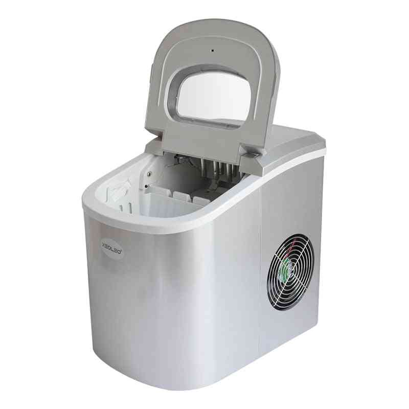 Mini Ice Maker, Electric Bullet Cylindrical Ice Machine, Automatic Household For Milk Tea Shop