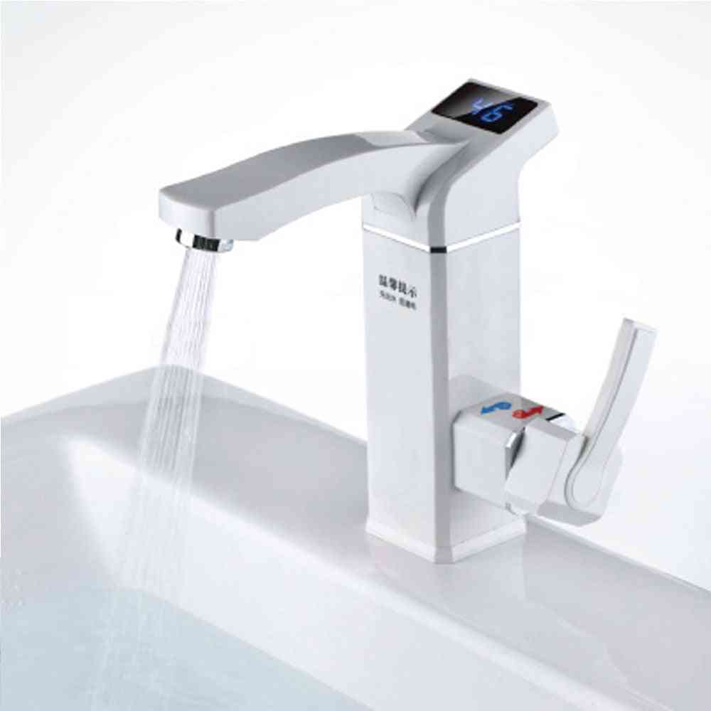Lcd Electric Faucet, Water-heater Hot Water Tap