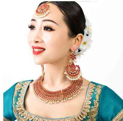 New Nepal, Ethnic, Indian Accessory, Necklace+earrings